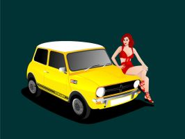 Mini 1275 GT by ahmednayyer