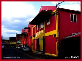 Red Building by kuriee