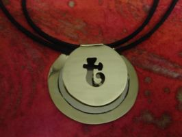 Pendant with initial by Tonnie89