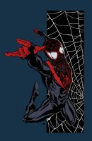Ultimate Spider-Man by Sheldon Goh (Colored) by edCOM02