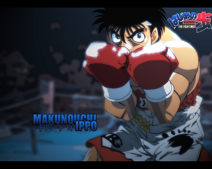 Ippo wallpaper by Lemonade2