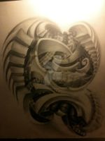 tattoo design for a shoulder by white2tattoo4