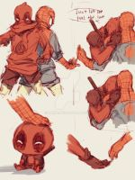 Spideypool16  by LKiKAi