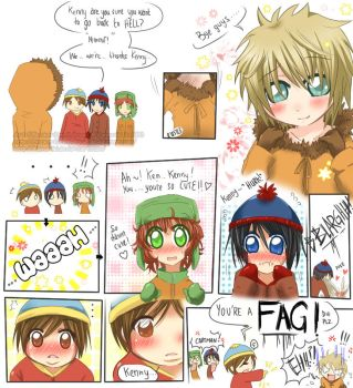 South Park: You're a FAG by Kamaniki
