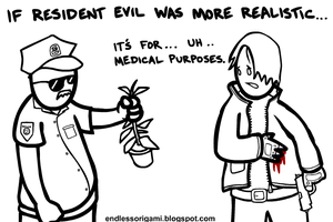 Resident Evil by endlessorigami