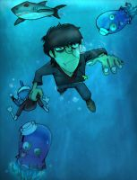 Escape to Plastic Beach by Gorillaz-HTF-rox
