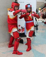 Fire Ferrets - AX 2012 by AtomicBrownie