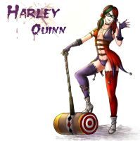 Harley Quinn by Estelle-nex