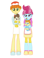 Cake Family by FerroKiva
