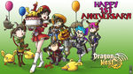Dragon Nest 1st Anniversary Contest by Tetido