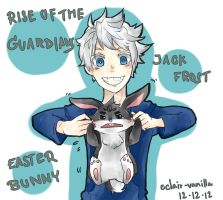 Rise of the Guardians. Jack Frost and Easter Bunny by EcLAiR-VaNILlA