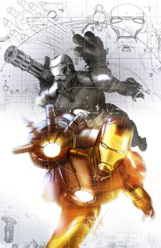 Iron Man Cover by evnaccd