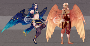 [CLOSED] Collab Bird Auction by Cerylune