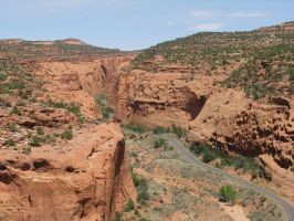 The Burr Trail by Blueberryfish