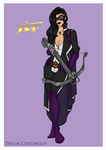 Justice Society - Huntress Redesign by Femmes-Fatales