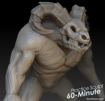 Taurus Demon - 60-Minute Practice Sculpt by GaryStorkamp