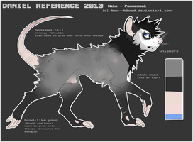 Fursona Reference 2013 [UPDATED] by Bad--Blood