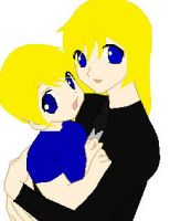 Mother Bella and son Victor by GrimTalesLover14
