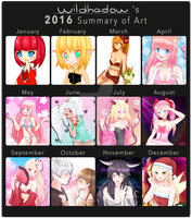 2016 SUMMARY by Wildhadow
