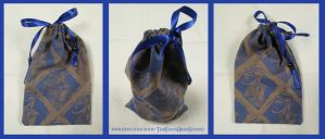 Egyptian Horus Pouch for Tarot, Dice, Runes etc. by ImogenSmid