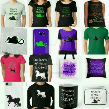 New Designs And Things! by blakcirclegirl