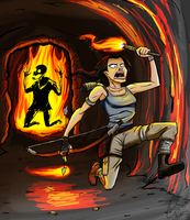 Tomb Raider: BURN EVERYTHING! by Dr-Borous