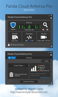 Panda Cloud Antivirus Pro Metrofied by WarrenClyde