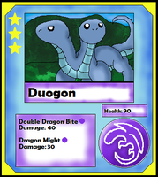 Duogon Card (Adopt) by Dianamond