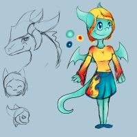Marina Dragonflame Doodle Sketches by Mdragonflame
