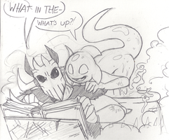 Crusher and Thorn: Sketch by Mickeymonster