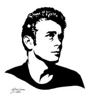 James Dean by jackieocean