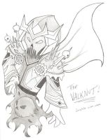 THE Valknut-complete with cape by Nefthys
