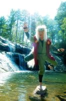 Jiraiya Sama Cosplay by littlecasaroo