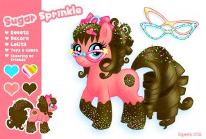 Sugar Sprinkle Pony Reference by squeekaboo