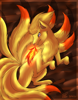 Pokemon Ninetales by eevee4everX3