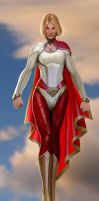 just a simple powergirl by nebezial