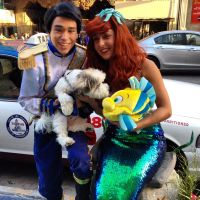 ariel and eric with max and flounder by fantasyaff by Fantasyaffaire
