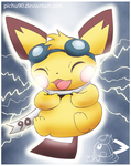 Charging Sparks by pichu90