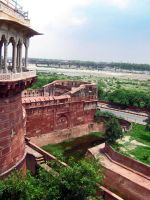 Agra Fort by Ranora