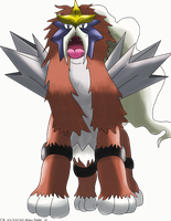 Shiny Entei by Phatmon66
