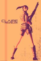 Claire Redfield poster by Claire-Wesker1