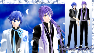 Formal KAITO and Gakupo Model DL by hzeo