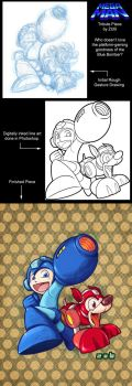 Mega Man Tribute by UdonCrew