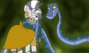 Kaa Meets Zecora by lol20