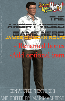 The Angry Video Game Nerd - James Duncan Rolfe by MarimachDesu