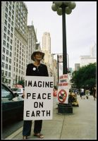 .imaginePEACE by xethos