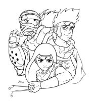 Three Little Ninjas... by AmyClark
