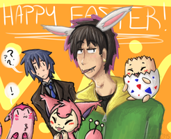 PR: A Pink Easter by Tokiball12345