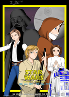 Star Wars - 35th Anniversary by StarlightMemories