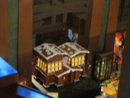 Giant Gingerbread House 1 by BigMac1212
